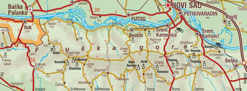 Manastiri Svete Fruske Gore Turisticka Agencija Autoturist Novi Sad